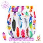 Milovia Cover Gorgeous Feathers