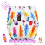 Milovia Cover Gorgeous Feathers tg. S